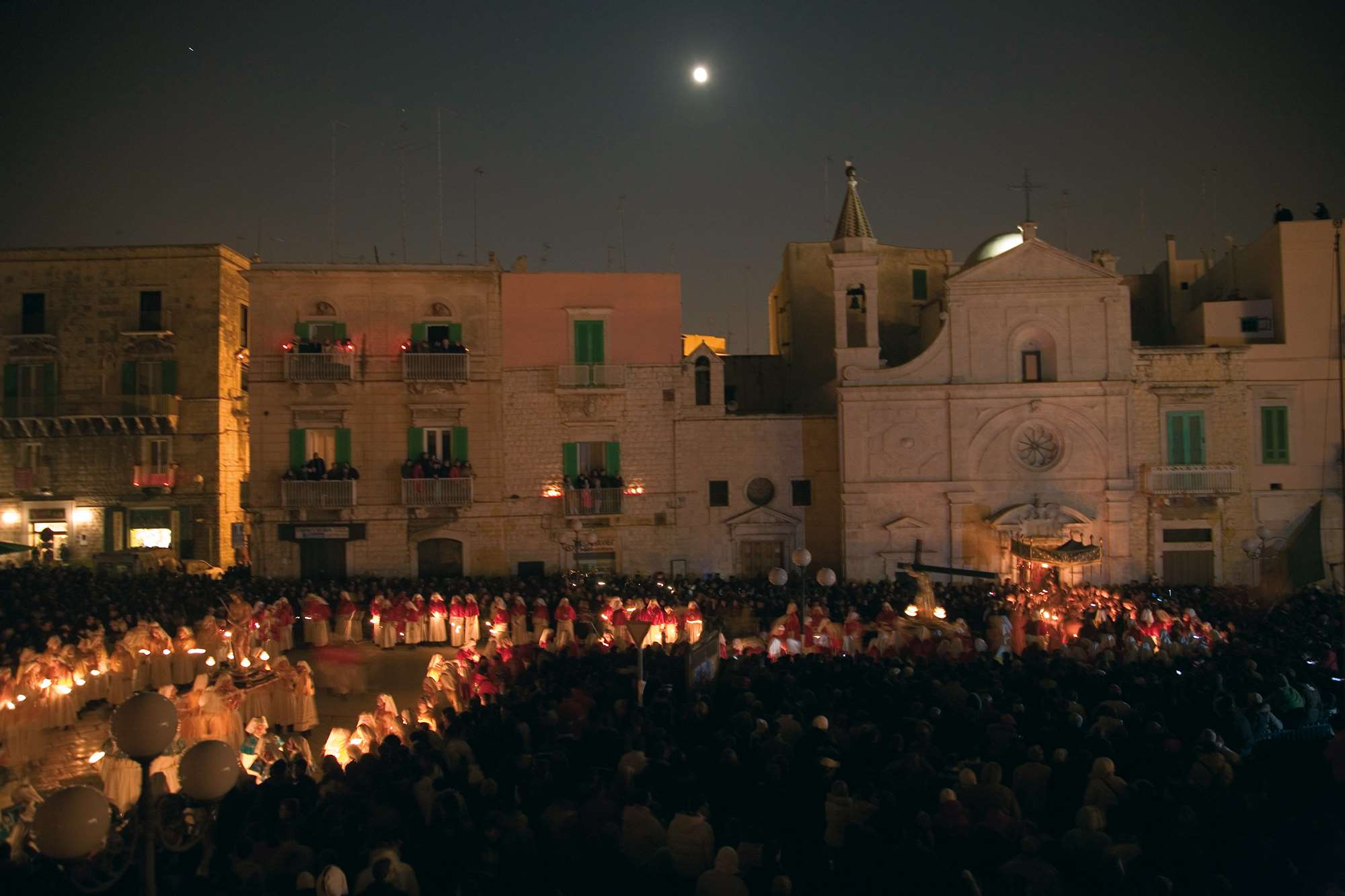 Holy week 2019 in Apulia region